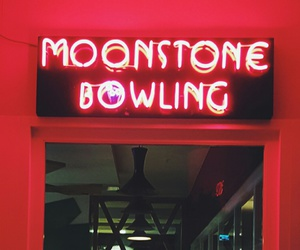 aesthetic, bowling, and lights image