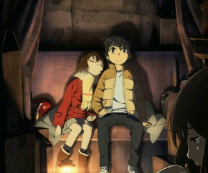 anime, erased, and boku dake ga inai machi image