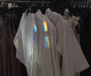 clothes, forever21, and rainbow image