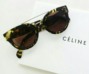 celine, fashion, and sunglasses image