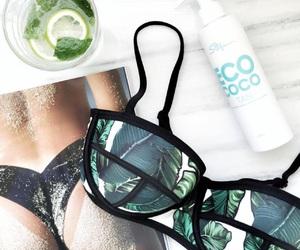 summer, bikini, and swimwear image