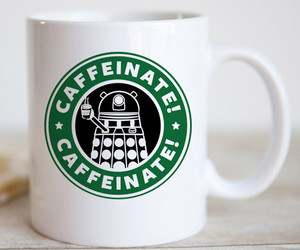 coffee, Dalek, and gift image