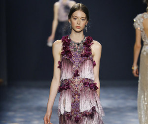 fashion, Marchesa, and model image