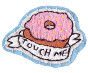 donut, overlay, and png image
