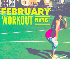 blog, fitness, and playlist image