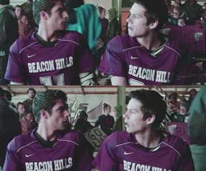 teen wolf, dylan o'brien, and scott mccall image