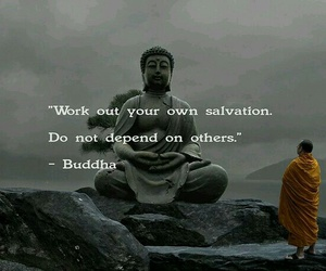 Buddha, quotes, and salvation image