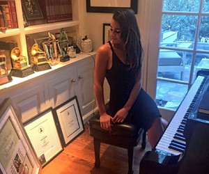 lea michele and personal image