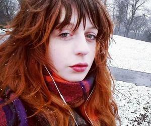blog, winter, and pelirroja image