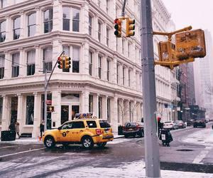new york, nyc, and city image