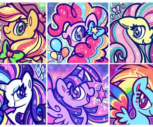 pinkie pie, my little pony, and twilight sparkle image