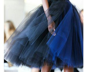 blue, fashion, and skirt image