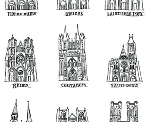 architecture, croquis, and france image