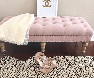 pink, chanel, and girly image