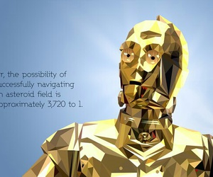 droid, star wars, and C-3PO image