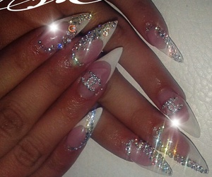 beauty, nails, and chanel nails image