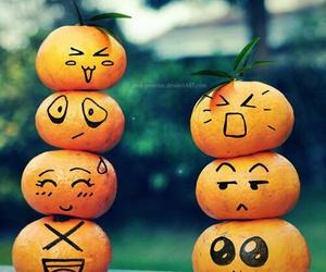 FRUiTS, orange, and funny image