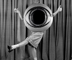costume, retro, and eye image