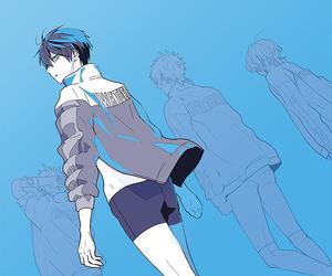 anime, asahi, and blue image