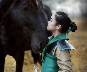 cosplay, disney, and mulan image
