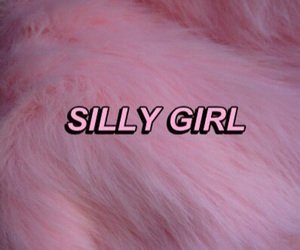 pink, silly, and grunge image