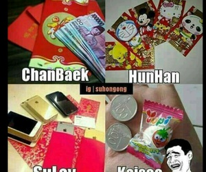 exo, exo funny, and exo ships image