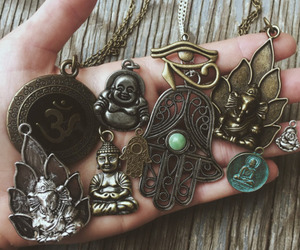 hippie, boho, and accessories image