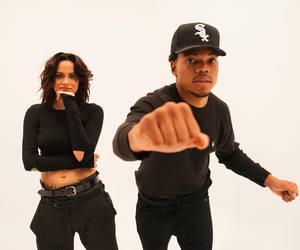 kehlani and chance the rapper image