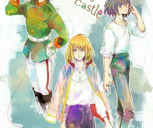 howl's moving castle, ghibli, and studio ghibli image
