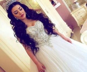 wedding, princess, and mariage image