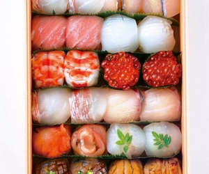 food, sushi, and japan image