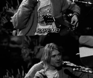 funny, unplugged, and kurt image