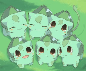 pokemon, bulbasaur, and cute image