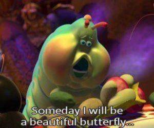 butterfly, disney, and quote image