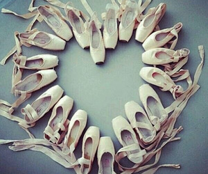 ballet, dance, and heart image
