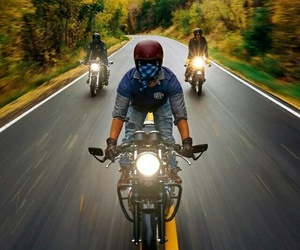 cafe racer, moto, and motorcycle image