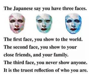 face, quotes, and japanese image