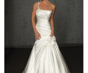 wedding dress, wedding gowns, and dress image