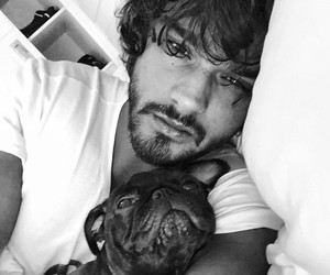 boy, dog, and Marlon Teixeira image