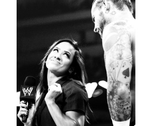 diva, wwe, and cm punk image