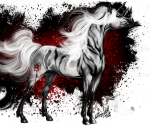 Darkness, fantasy, and markings image