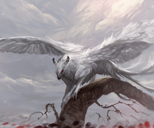 gryphon and white image