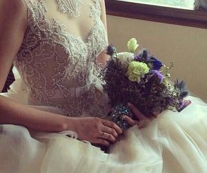 beautiful, wedding, and bride image