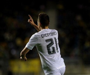 real madrid, cheryshev, and love image