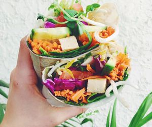 food, healthy, and summer image