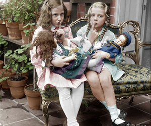 girls and vintage image