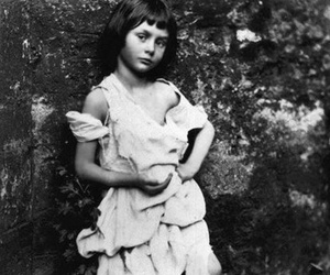 Lewis Carroll, alice liddell, and alice image