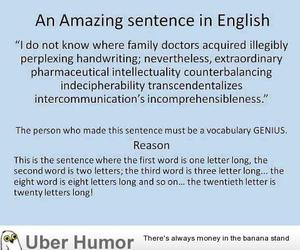 funny and sentence image
