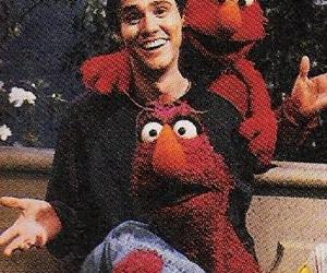 jim carrey, sesame street, and cute image