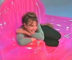 britney spears, pink, and 90s image